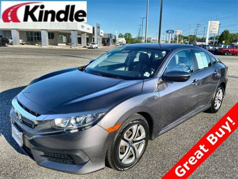 2016 Honda Civic for sale at Kindle Auto Plaza in Middle Township NJ