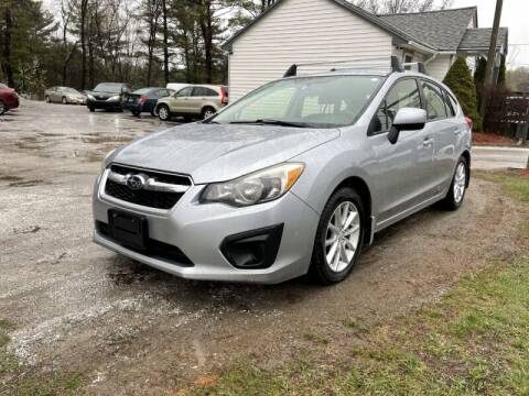2013 Subaru Impreza for sale at Williston Economy Motors in Williston VT