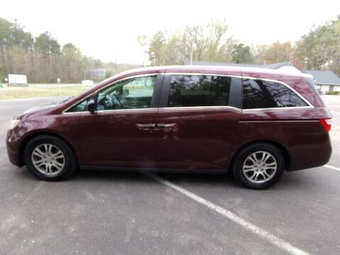 2012 Honda Odyssey for sale at West End Auto Sales LLC in Richmond VA
