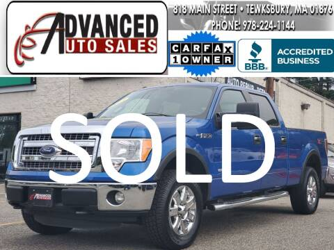 2013 Ford F-150 for sale at Advanced Auto Sales in Dracut MA