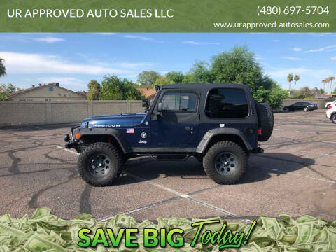 2005 Jeep Wrangler for sale at UR APPROVED AUTO SALES LLC in Tempe AZ