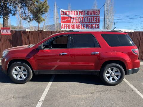 2013 GMC Acadia for sale at Flagstaff Auto Outlet in Flagstaff AZ