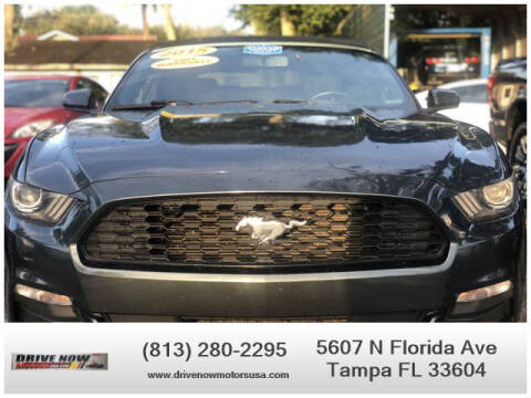 2015 Ford Mustang for sale at Drive Now Motors USA in Tampa FL