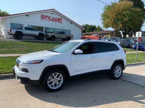 2016 Jeep Cherokee for sale at Efkamp Auto Sales LLC in Des Moines IA
