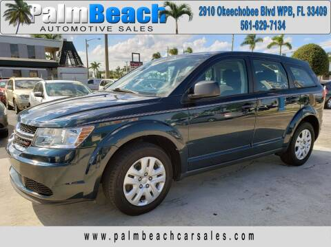 2014 Dodge Journey for sale at Palm Beach Automotive Sales in West Palm Beach FL