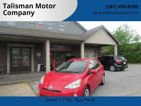 2013 Toyota Prius c for sale at Don Jacobson Automobiles in Houston TX