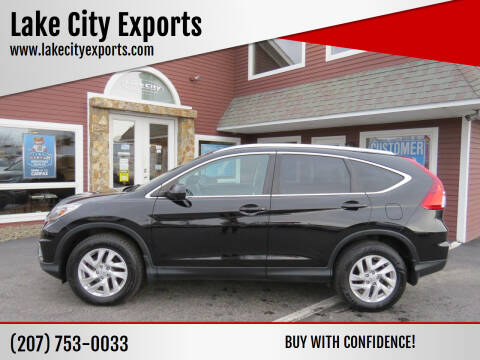 2015 Honda CR-V for sale at Lake City Exports in Auburn ME