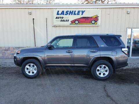 2018 Toyota 4Runner for sale at Lashley Auto Sales in Mitchell NE