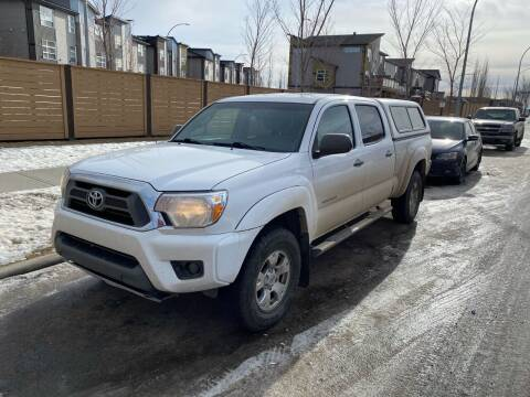 2013 Toyota Tacoma for sale at Canuck Truck in Magrath AB