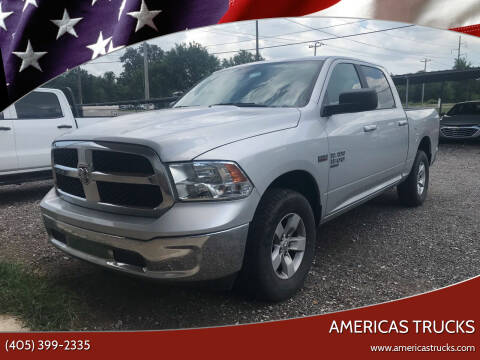 2019 RAM Ram Pickup 1500 Classic for sale at Americas Trucks in Jones OK