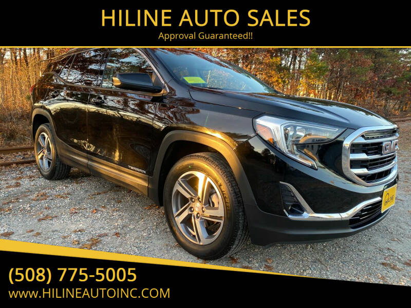 2020 GMC Terrain for sale at HILINE AUTO SALES in Hyannis MA