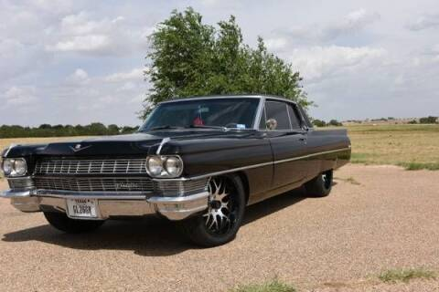 1964 Cadillac DeVille for sale at Classic Car Deals in Cadillac MI