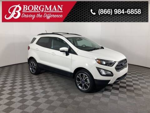 2018 Ford EcoSport for sale at BORGMAN OF HOLLAND LLC in Holland MI