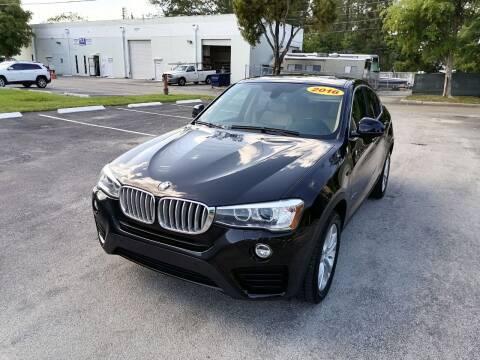 2016 BMW X4 for sale at Best Price Car Dealer in Hallandale Beach FL
