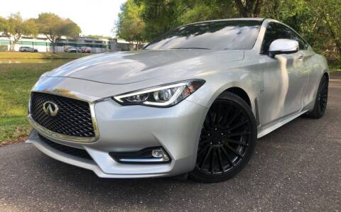 2018 Infiniti Q60 for sale at Powerhouse Automotive in Tampa FL