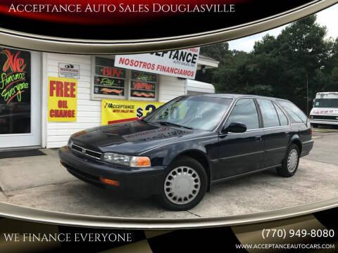 1992 Honda Accord for sale at Acceptance Auto Sales Douglasville in Douglasville GA