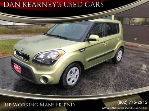 2013 Kia Soul for sale at DAN KEARNEY'S USED CARS in Center Rutland VT