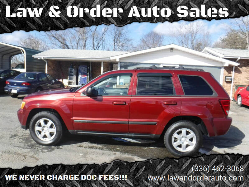 2008 Jeep Grand Cherokee for sale at Law & Order Auto Sales in Pilot Mountain NC