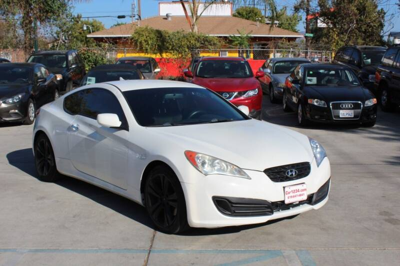 2011 Hyundai Genesis Coupe for sale at Car 1234 inc in El Cajon CA