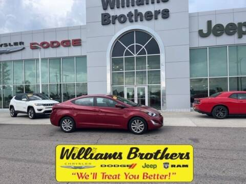 2016 Hyundai Elantra for sale at Williams Brothers - Pre-Owned Monroe in Monroe MI