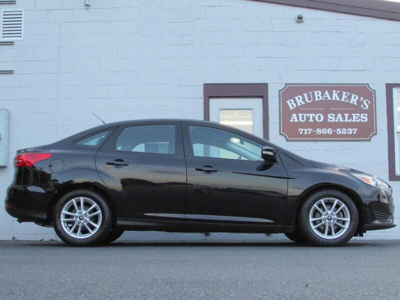 2016 Ford Focus for sale at Brubakers Auto Sales in Myerstown PA