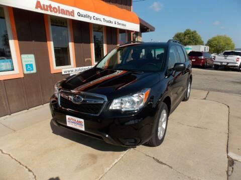 2016 Subaru Forester for sale at Autoland in Cedar Rapids IA
