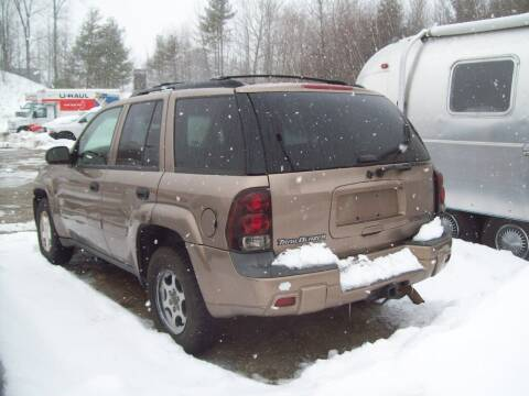 2002 Chevrolet TrailBlazer for sale at Frank Coffey in Milford NH