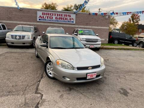2006 Chevrolet Monte Carlo for sale at Brothers Auto Group in Youngstown OH