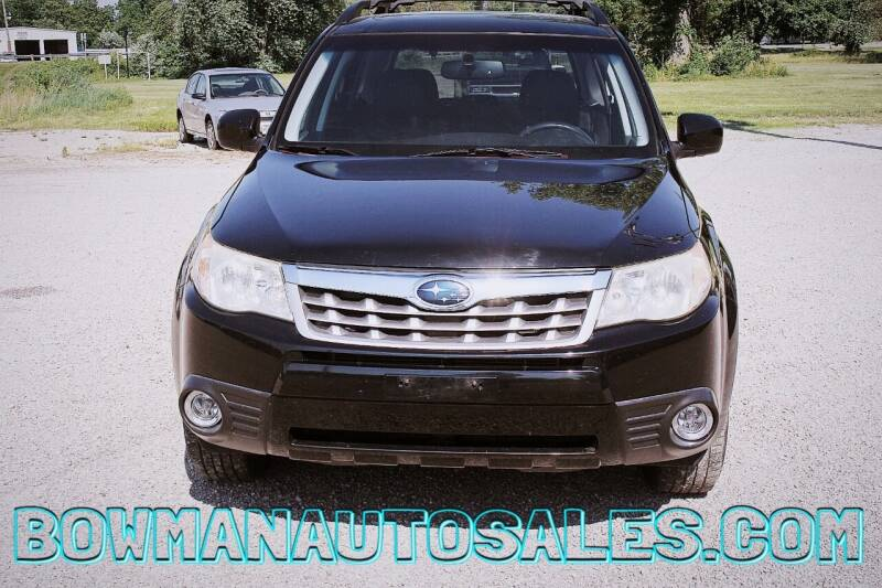 2012 Subaru Forester for sale at Bowman Auto Sales in Hebron OH