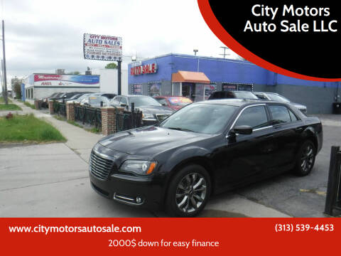 2014 Chrysler 300 for sale at City Motors Auto Sale LLC in Redford MI