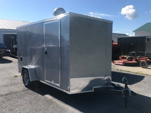 2021 Pace American 7x12 V-nose Single Axle for sale at Forkey Auto & Trailer Sales in La Fargeville NY