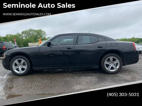 2008 Dodge Charger for sale at Seminole Auto Sales in Seminole OK