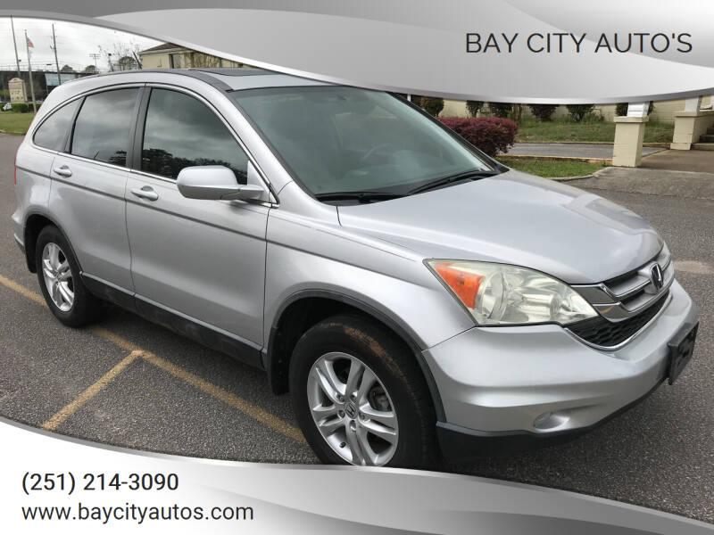 2011 Honda CR-V for sale at Bay City Auto's in Mobile AL