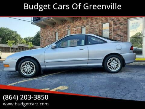 2001 Acura Integra for sale at Budget Cars Of Greenville in Greenville SC
