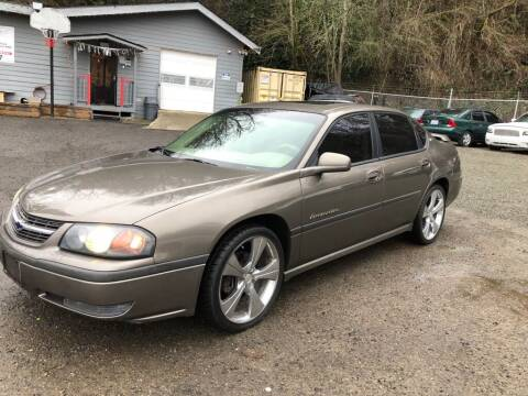 2002 Chevrolet Impala for sale at C&D Auto Sales Center in Kent WA