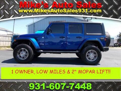 2018 Jeep Wrangler Unlimited for sale at Mike's Auto Sales in Shelbyville TN