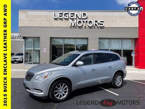 2015 Buick Enclave for sale at Legend Motors of Waterford in Waterford MI