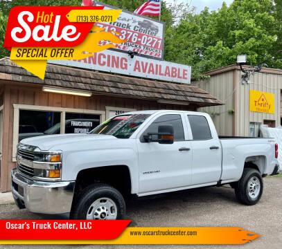 2017 Chevrolet Silverado 2500HD for sale at Oscar's Truck Center, LLC in Houston TX