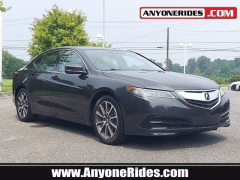 2015 Acura TLX for sale at ANYONERIDES.COM in Kingsville MD