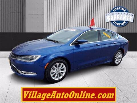 2015 Chrysler 200 for sale at Village Auto in Green Bay WI