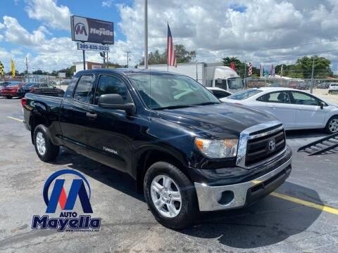 2013 Toyota Tundra for sale at Auto Mayella in Miami FL