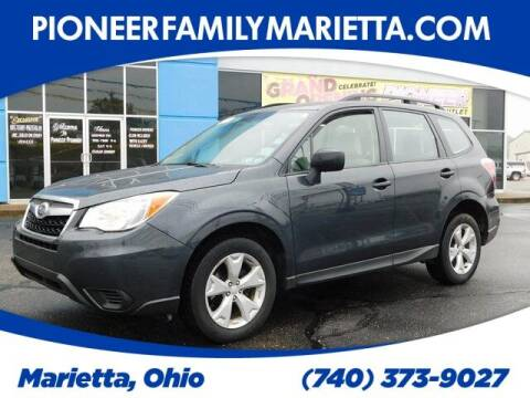 2015 Subaru Forester for sale at Pioneer Family preowned autos in Williamstown WV