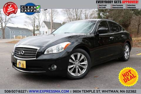 2012 Infiniti M37 for sale at Auto Sales Express in Whitman MA