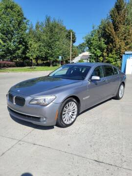 2011 BMW 7 Series for sale at RICKIES AUTO, LLC. in Portland OR