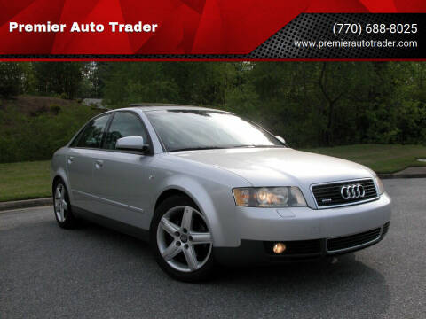 2003 Audi A4 for sale at Premier Auto Trader in Alpharetta GA