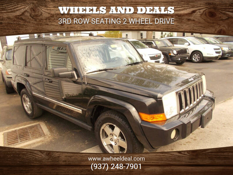 2010 Jeep Commander for sale at Wheels and Deals in New Lebanon OH