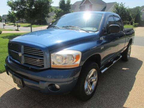 2006 Dodge Ram Pickup 1500 for sale at Wally's Wholesale in Manakin Sabot VA