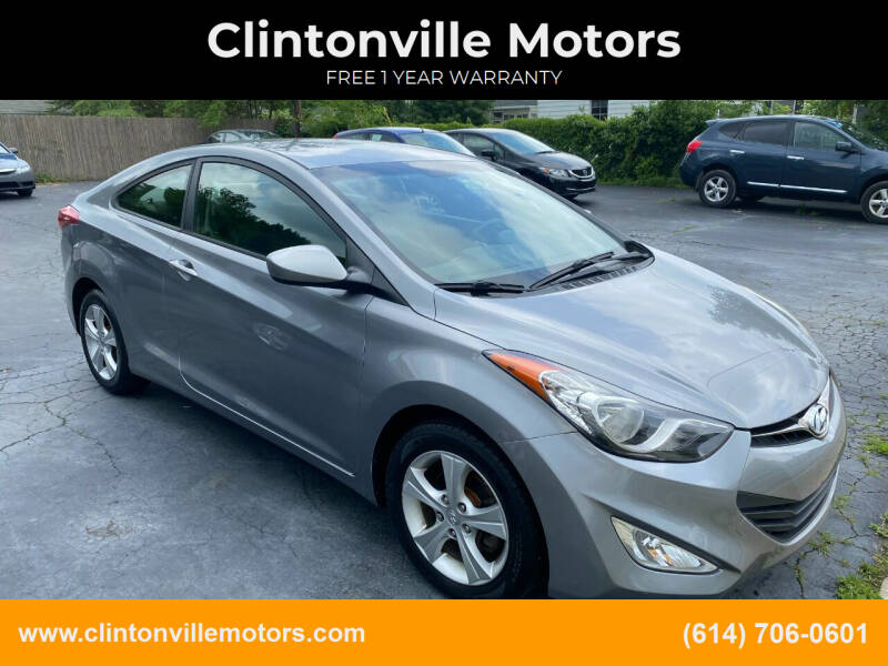 2013 Hyundai Elantra Coupe for sale at Clintonville Motors in Columbus OH