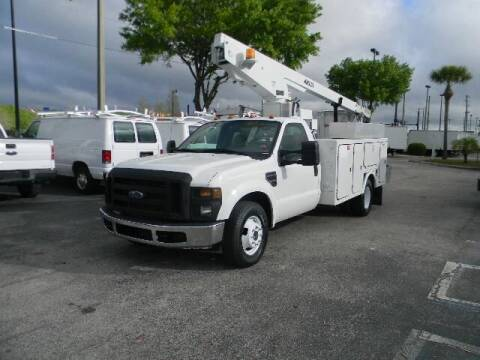 2008 Ford F-350 Super Duty for sale at Longwood Truck Center Inc in Sanford FL