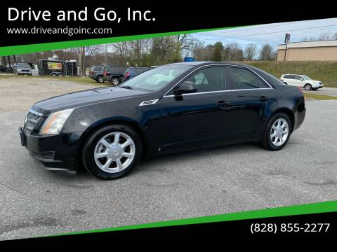2008 Cadillac CTS for sale at Drive and Go, Inc. in Hickory NC